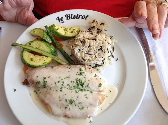 Le Bistrot : the fish of the day