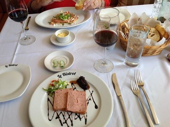 Le Bistrot : the delicious pate