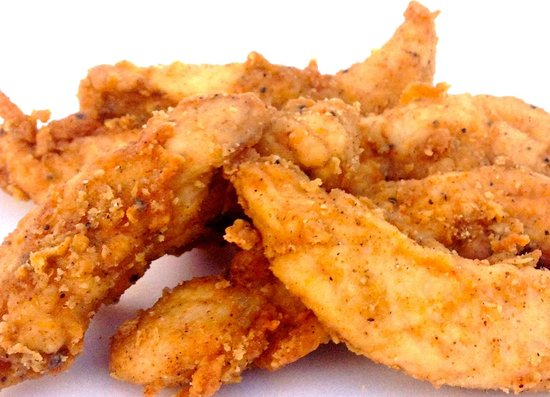 Landrum, Carolina del Sur: Crispy Chicken Tenders, fresh never frozen and made to order.