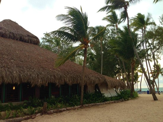 Vista Sol Punta Cana: Snack bar/restaurant on the beach