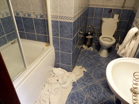 The Golden Horn Hotel: Bathroom - Original Room