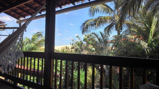 Pousada Vila Bela Vista : Vista da Varanda do Chalé.