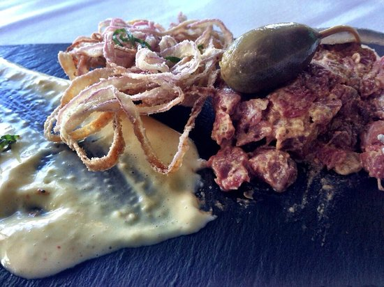 Ocean Cape Arundel Inn : Beef Tartare