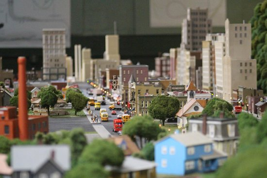City Of Greenburg Northside at the Miniature World Of Trains
