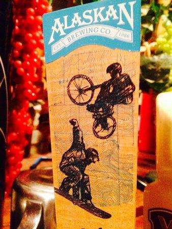 Joe's Pasta House : American Pale Ale Alaskan Brewing Co. on tap