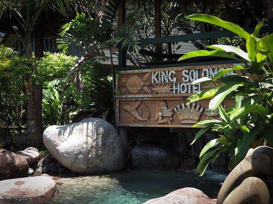 King Solomon Hotel: Waterfall