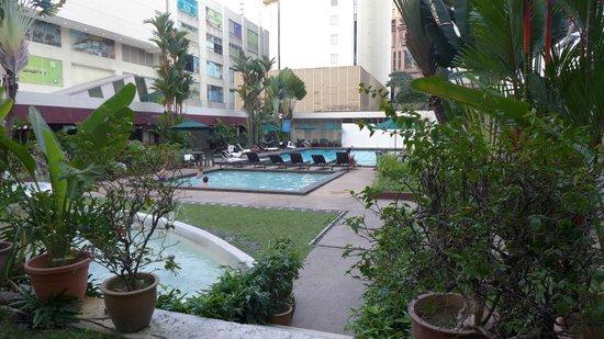 Federal Hotel: Pool Area