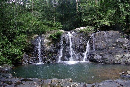Salakot Waterfalls: The main falls and Pool at Salakot