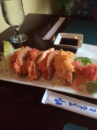 Sushi One: sushi in taco's