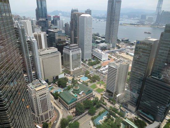 Bank of China Tower : Looking Down