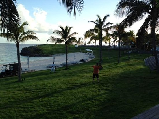 The Cove Eleuthera: The staff will even throw a football w/you if you ask