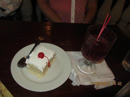 Little Havana Restaurant: dessert