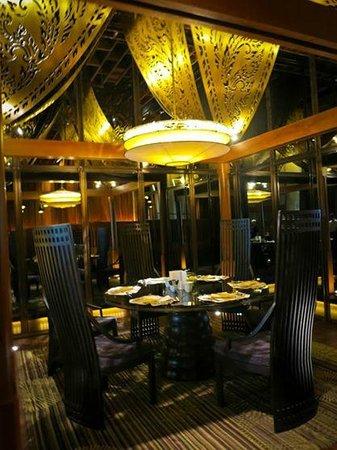 Siam Kempinski Hotel Bangkok : ห้องอาหารสระบัว