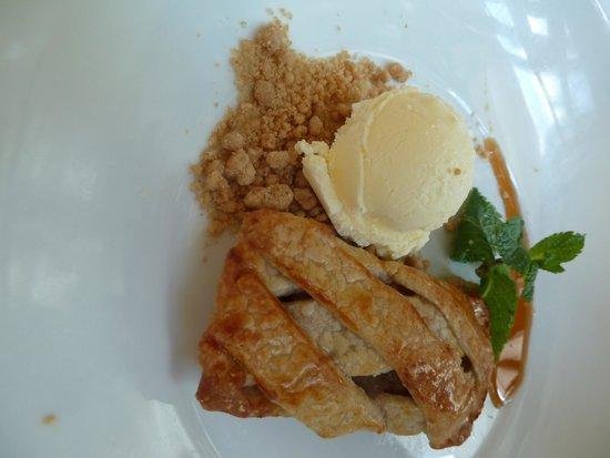 Bryant Park Grill : Hudson Valley Apple Tart