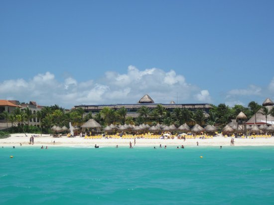 Iberostar Tucan Hotel: View of Tucan From Water