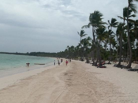 Barcelo Bavaro Beach - Adults Only: beach looking east