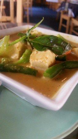 Thai Orchid Restaurant: Vegetarian tofu yellow curry