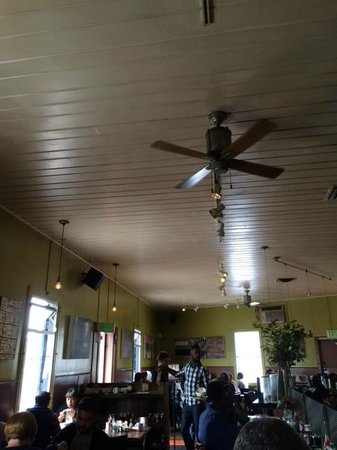 Brown Sugar Kitchen: Ceiling fan