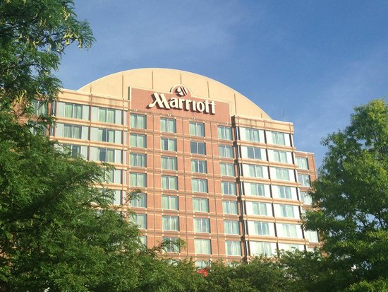 Nashville Marriott at Vanderbilt University : Front of the Marriott