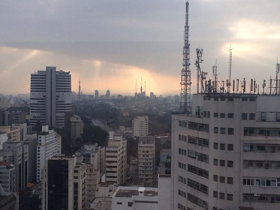 Renaissance Sao Paulo Hotel : View from the room