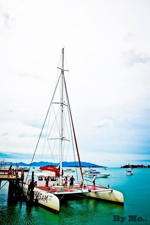 Catchasam Catamaran Charter : One of the largest Catamarans in Asia