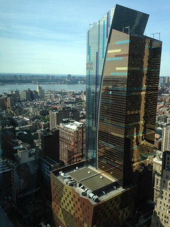 Hilton Times Square: view from 42nd floor