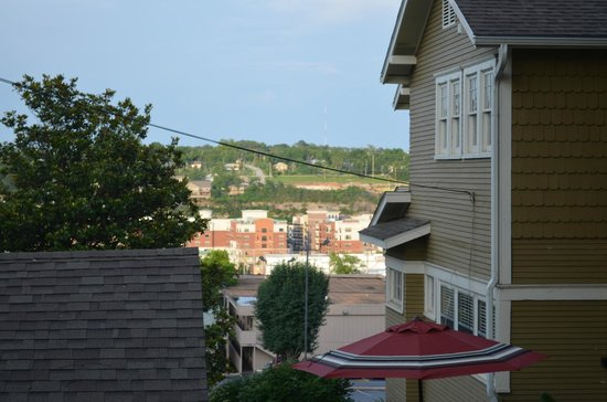 The Branson House: View from the party pavilion