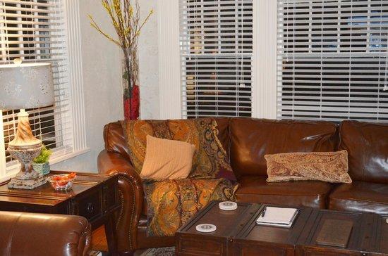 The Branson House: living room