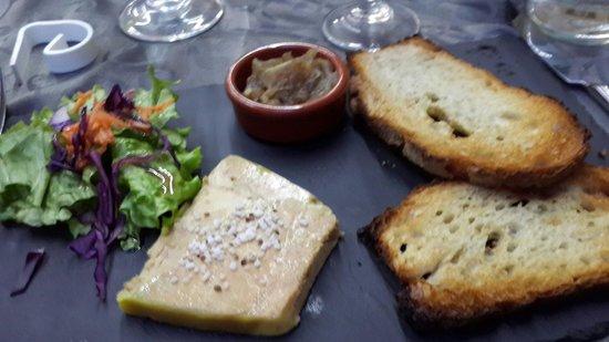Le Clos du Perigord: bloc of foie gras