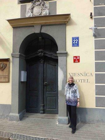 Ekes Konvents : Hotel Entrance