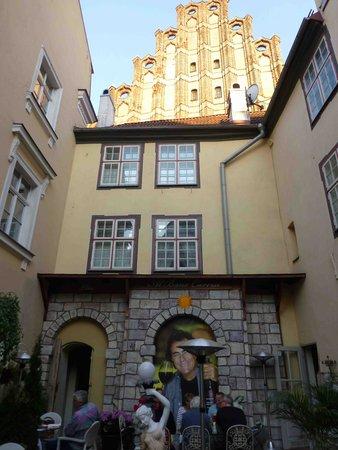 Ekes Konvents : Hotel Courtyard