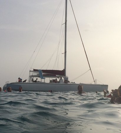 Couples Swept Away: Catamaran