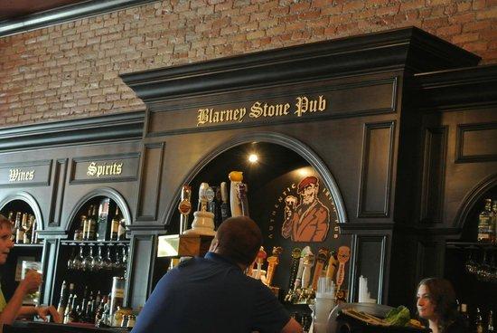 Blarney Stone Pub: the bar