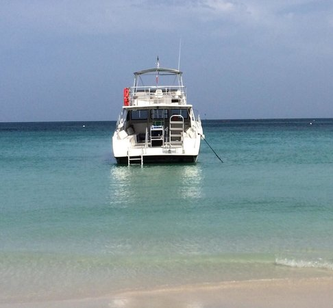 Couples Swept Away: Nice dive boat!!