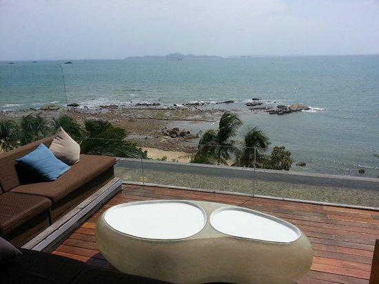 Cape Dara Resort: วิวห้องอาหาร