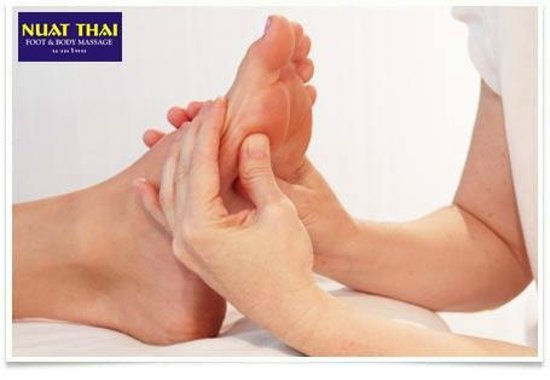 Advertisement Poster Foot Massage Reflexology - Picture Of-3336