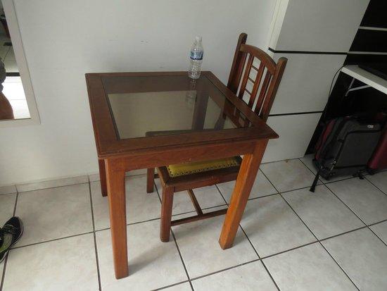 Caribe Park Hotel : só uma cadeira muito desconfortável!