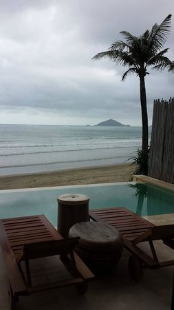 Six Senses Con Dao: view from our room