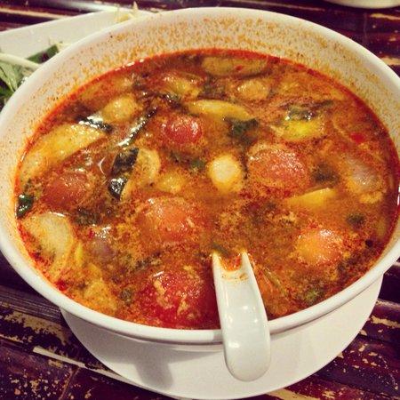 Ao Nang Boat Noodle: Tom yam