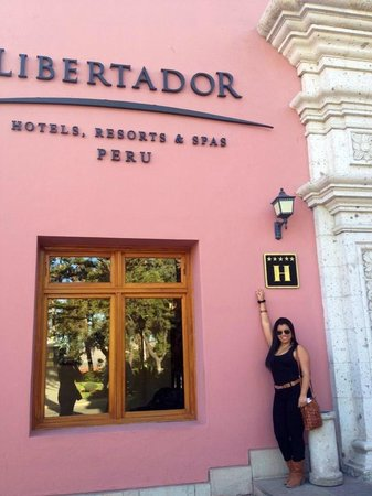 Hotel Libertador Arequipa : Frontis