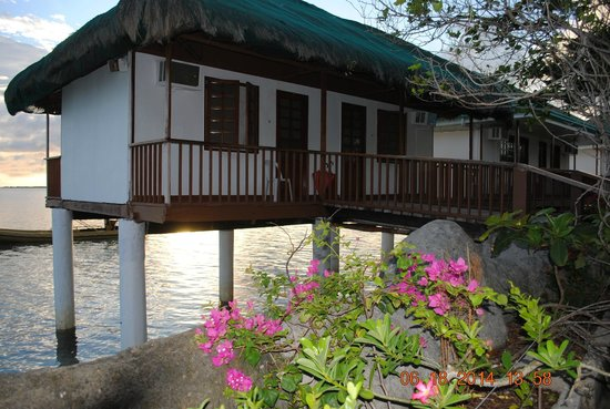 Nalusuan Island Resort: View of the 2 rooms we used