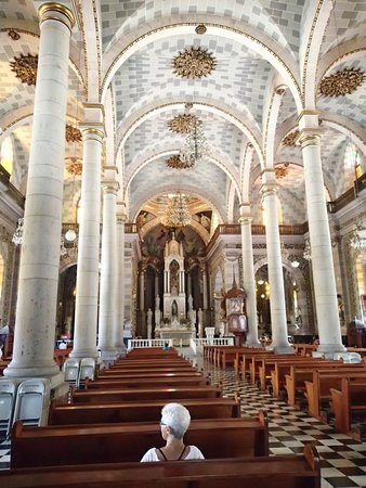 Hotel Riu Emerald Bay : Old Cathedral in Mazatlan near Market