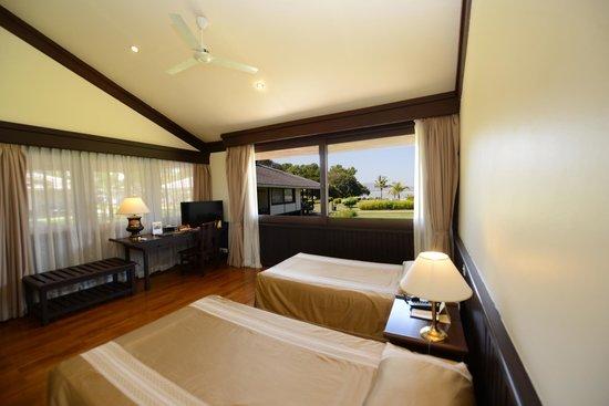 Bagan Thiripyitsaya Sanctuary Resort : Deluxe Riverview Twin Room