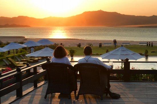 Bagan Thiripyitsaya Sanctuary Resort : Sunset