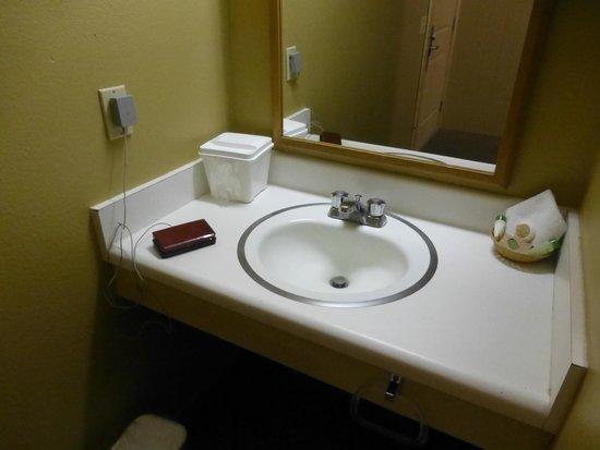 Sierra Nevada Resort & Spa: small counter space