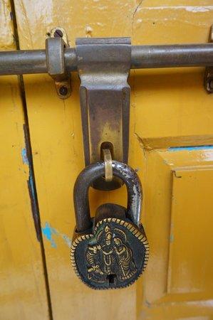 Ganpati Guest House: 特色鑰匙
