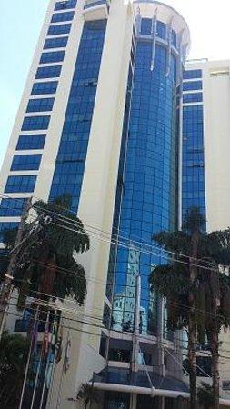 Melia Ibirapuera: Fachada do Hotel