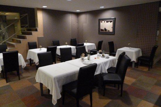 Alborada Hotel : Restaurant (leider ohne Fenster)