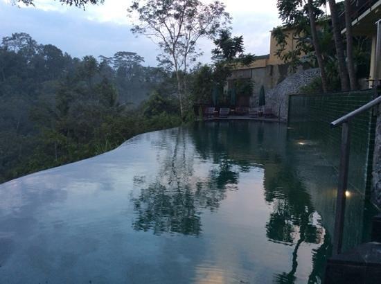 Komaneka at Tanggayuda : One of the pools