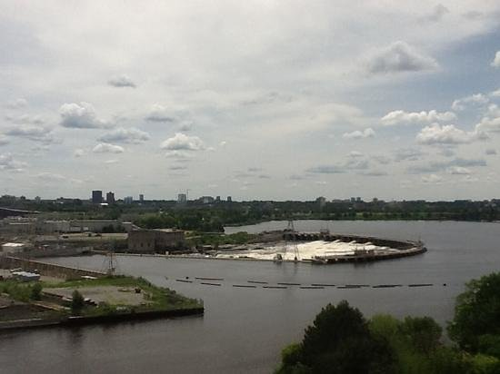 Crowne Plaza Gatineau-Ottawa: another view from the hotel